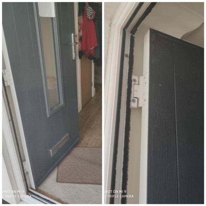 New front door in Kent