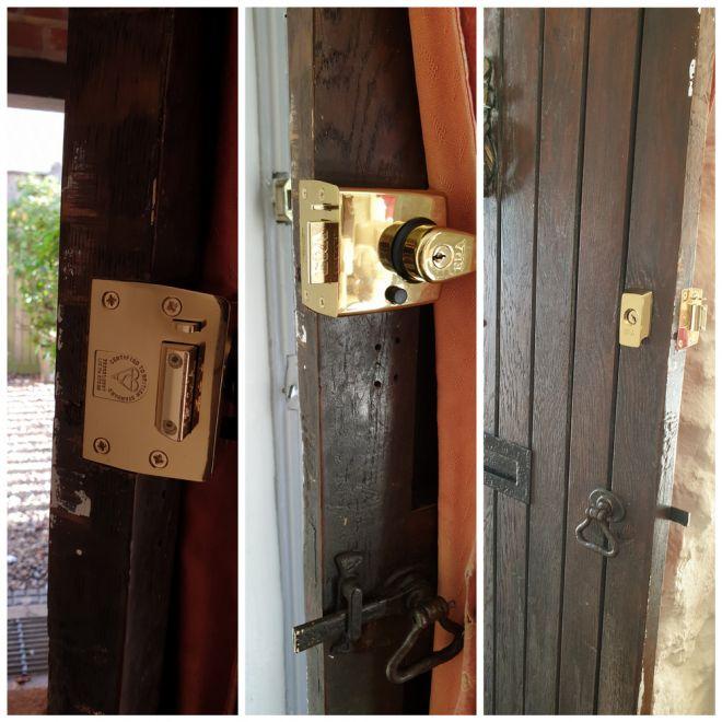 Examples of door locks
